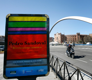 'Reverberaciones Cromáticas' de Pedro Sandoval