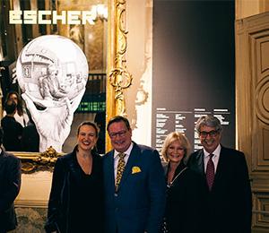 Inauguración Escher